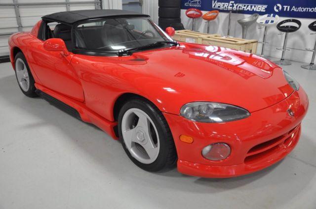 1992 dodge viper sports car rt 10 3k miles a collectors dream car 1st yr produ classic dodge. Black Bedroom Furniture Sets. Home Design Ideas