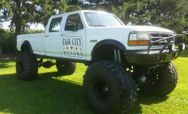 1992 f350 7 3 diesel lifted monster 49 swamper tires mud show big lift low miles classic ford. Black Bedroom Furniture Sets. Home Design Ideas