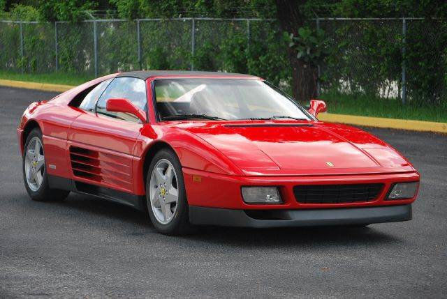 1992 ferrari 348 red classic ferrari 348 1992 for sale. Black Bedroom Furniture Sets. Home Design Ideas
