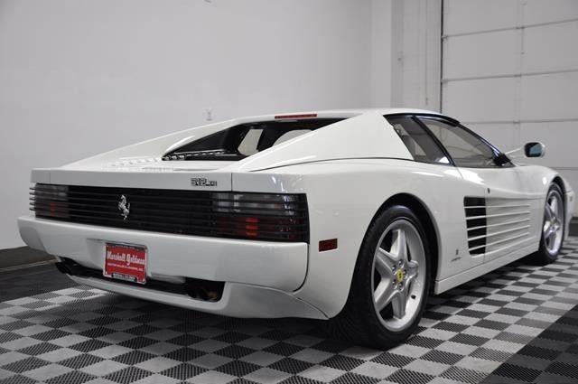 1992 Ferrari 512 Testarossa In White 17800 Miles Was
