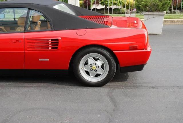 1992 ferrari mondial t cabriolet 6 950 miles red convertible other 8 cylinder 3 classic. Black Bedroom Furniture Sets. Home Design Ideas