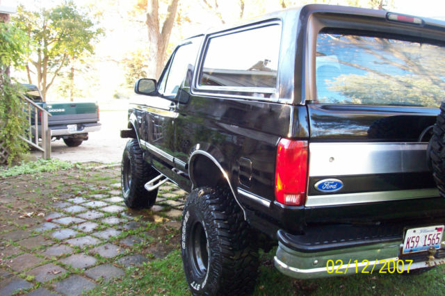 1992 Ford Bronco Xlt 4x4 6 Inch Lift 35 Inch Tires