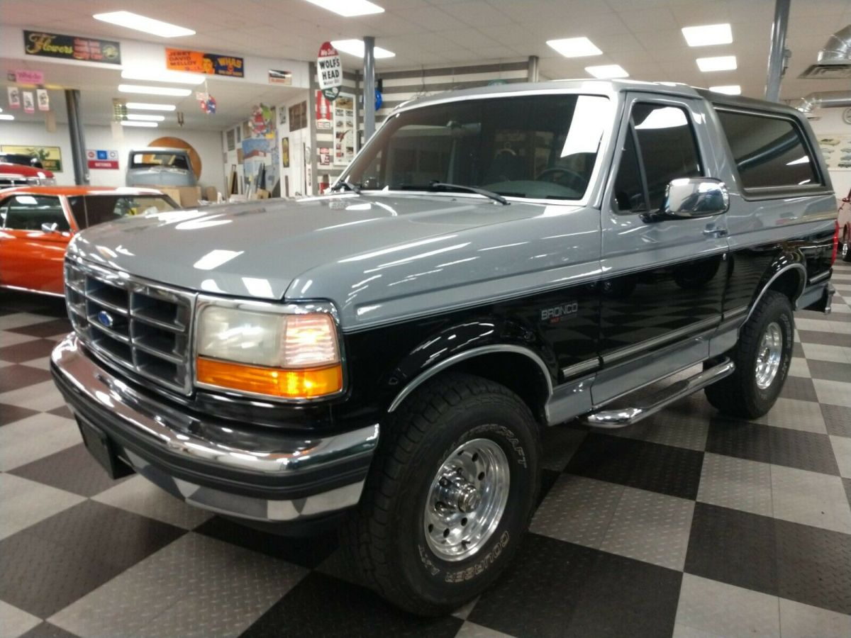 1992 Ford Bronco XLT 4X4 95,000 MILES - Classic Ford ...