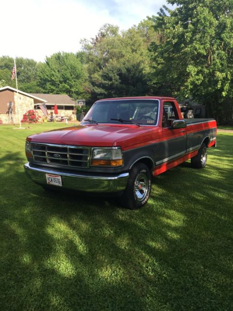 1992 ford f 150 xl xlt custom special edition pickup truck classic ford f 150 1992 for sale. Black Bedroom Furniture Sets. Home Design Ideas