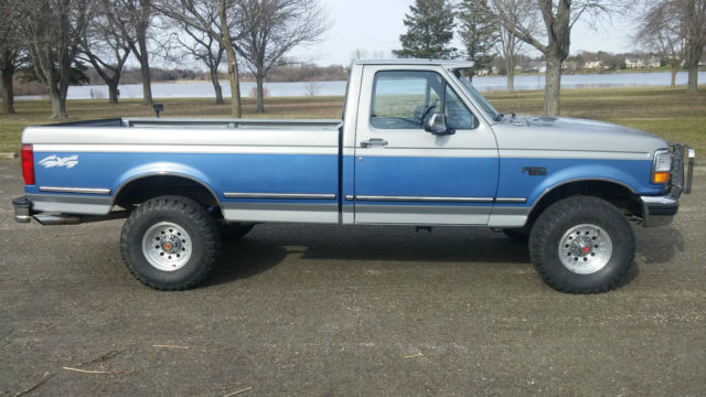 Ford F Xlt Regular Cab Truck V Very Low Miles on 1995 Ford F 150 5 0 Engine