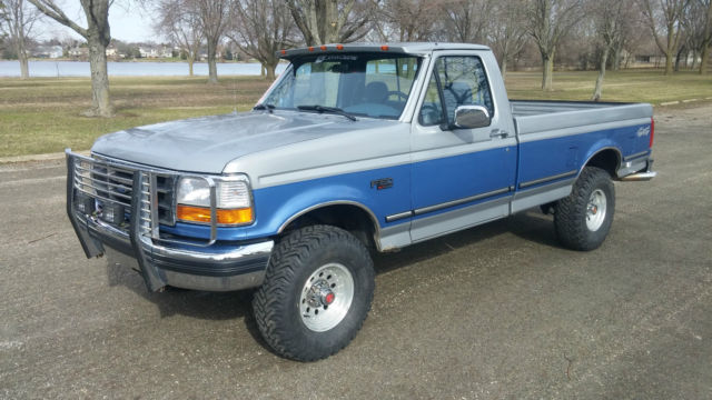 1992 Ford F150 XLT Regular Cab Truck V8 Very Low Miles ...