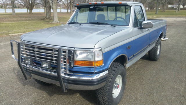 Ford F Xlt Regular Cab Truck V Very Low Miles