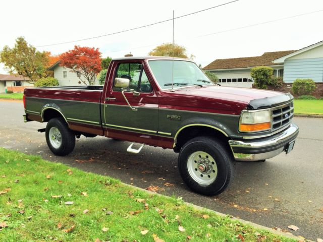 1992 ford f250 xlt 4x4 classic ford f 250 1992 for sale