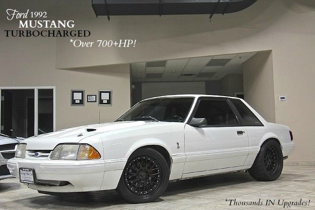 1992 Ford Mustang Fox Body Coupe 349 CI Motor! Hellion Turbo