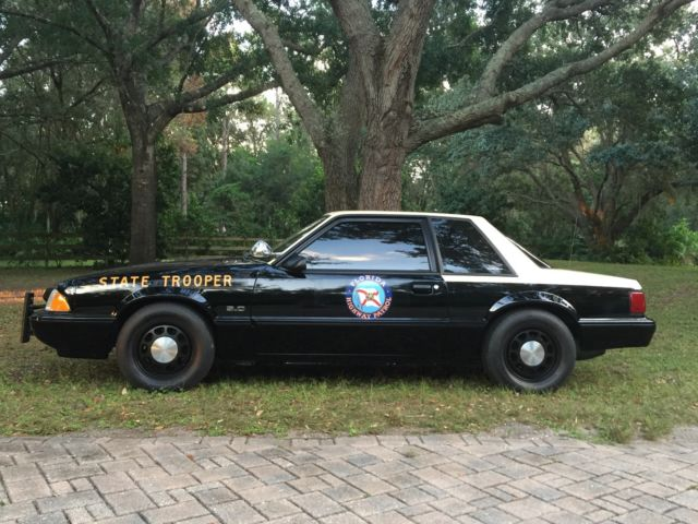 1992 Ford Mustang Lx 5 0 Coupe Florida Highway Patrol Car