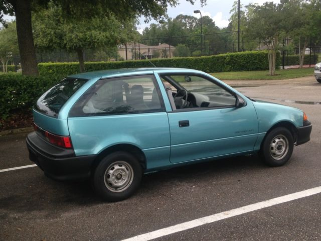 1992 Geo Metro Xfi 5 Speed Manual
