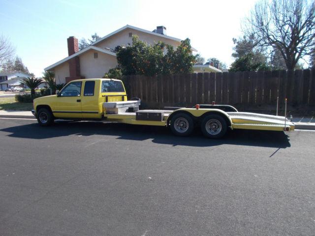 Front Wheel Drive Car Hauler For Sale