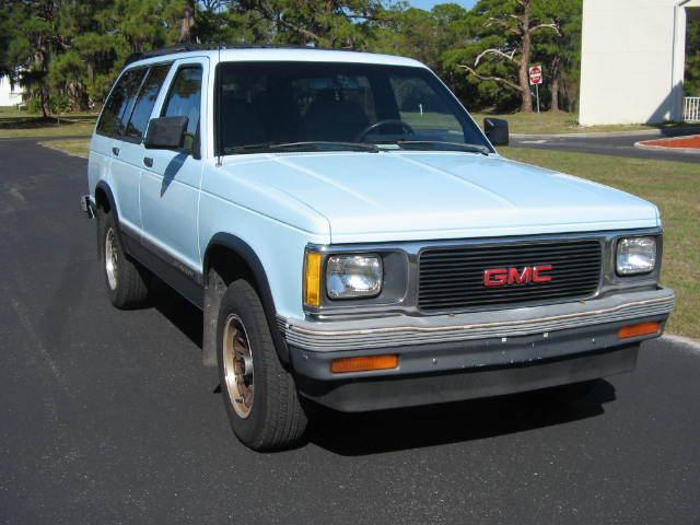 1992 GMC Jimmy 4 Door 2 wheel drive - Classic GMC Jimmy ...