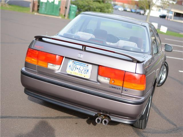 1992 Honda Accord Ex Coupe Perfect Shape Clean Sunroof