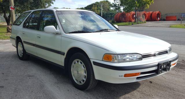 1992 honda accord lx station wagon auto 86k clean interior original paint classic honda accord. Black Bedroom Furniture Sets. Home Design Ideas