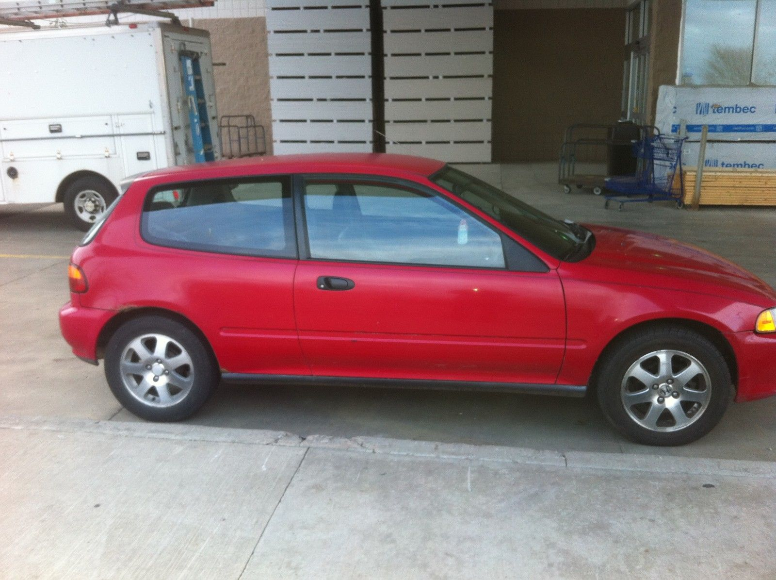 1992 Honda Civic CX Hatchback Bubble back 5 speed d15 eg ...