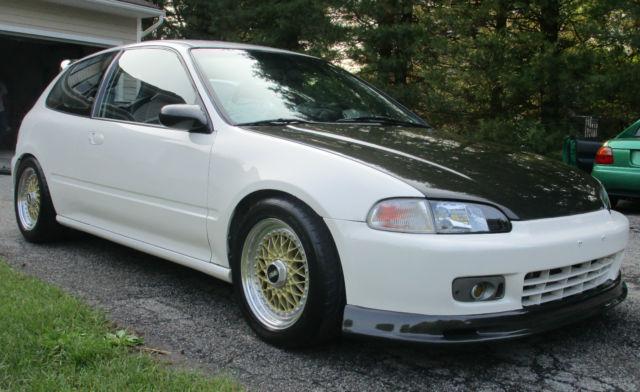 1992 Honda Civic Eg Hatchback B18c