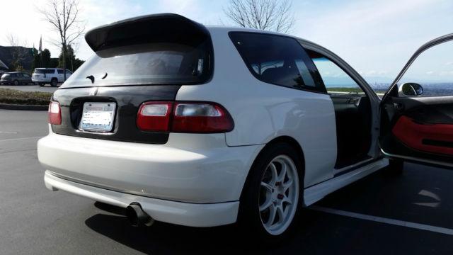 1992 Honda Civic VX Hatchback   Fully Restored U0026 Built   Attention Honda  Fans