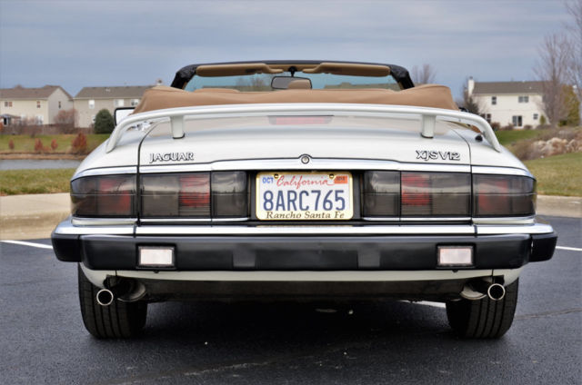1992 Jaguar Xjs V 12 Cabriolet 38 000 Actual California