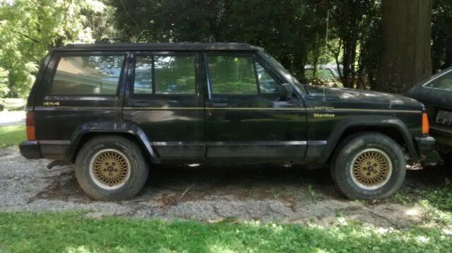 1992 Jeep Cherokee Limited Classic Jeep Cherokee 1992