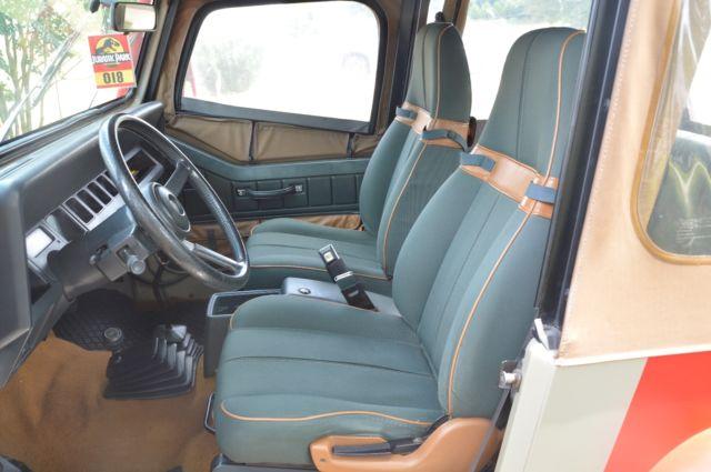 Jeep Wrangler Wheels >> 1992 Jeep Wrangler Sahara Jurassic Park - Classic Jeep ...