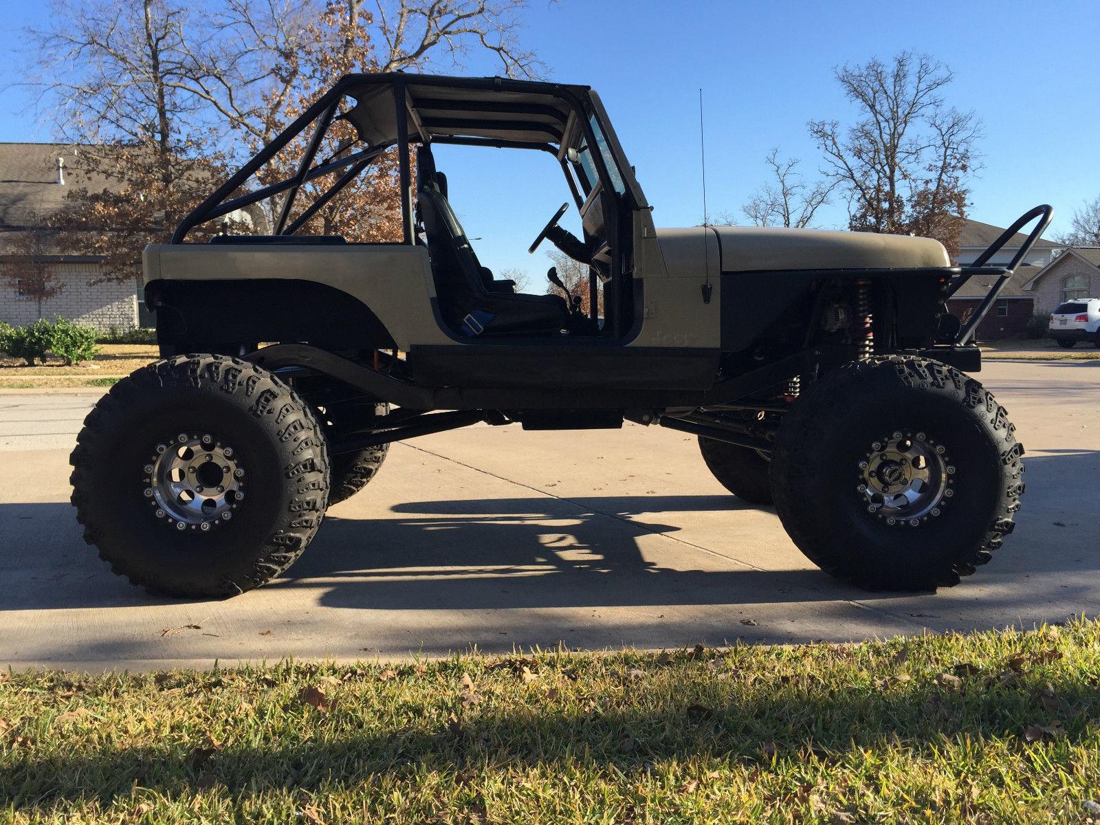 Jeep Rock Crawler 1992 Jeep Wrangler Yj Custom Rock Crawler Street Legal Classic