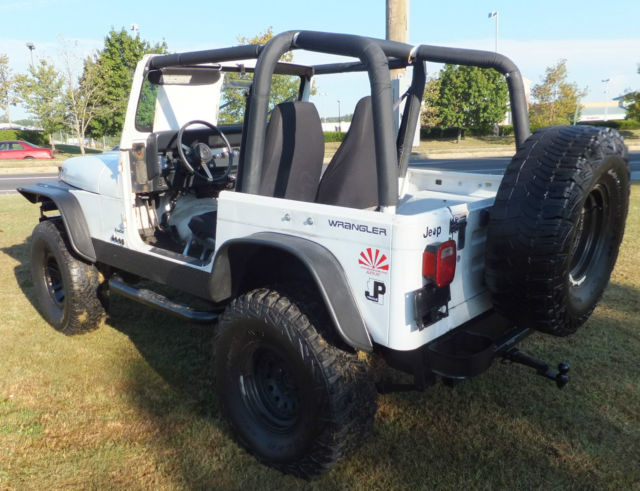 1992 jeep yj wrangler 4x4 low price in maryland 4 lift 35 tires ready cj tj classic jeep. Black Bedroom Furniture Sets. Home Design Ideas