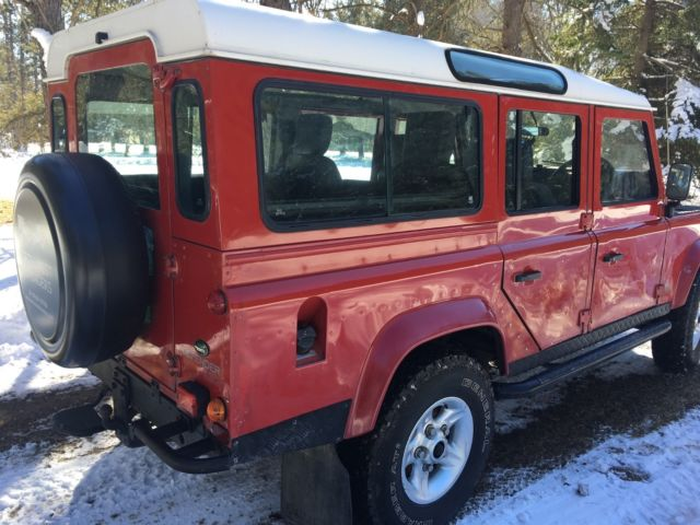 1992 Land Rover Defender 110 County 5 Door Low Miles With
