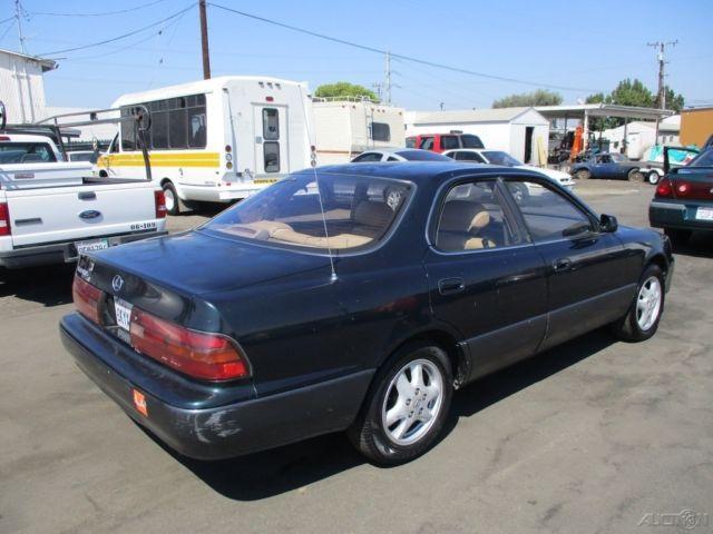 1992 lexus es 300 used 3l v6 24v automatic sedan no. Black Bedroom Furniture Sets. Home Design Ideas