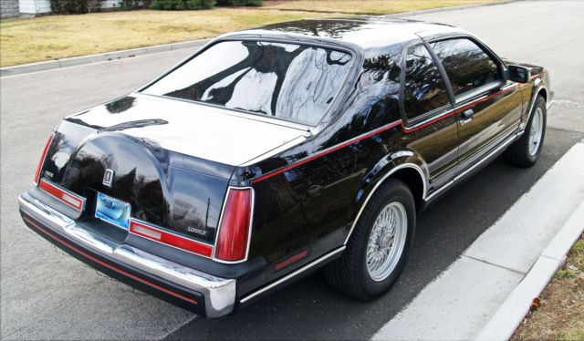 1992 Lincoln Mark Vii Special Edition Rust Free