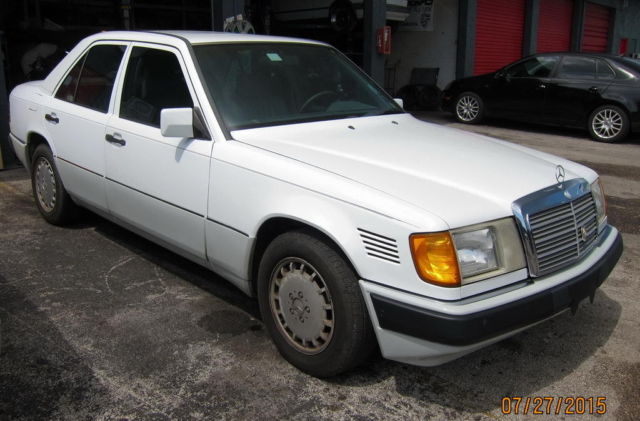 1992 mercedes benz 300d w124 sedan body e300d 2 5 l om602