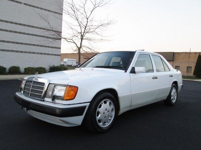 1992 mercedes benz 400e v8 white only 81k miles 1 owner for Find mercedes benz for sale