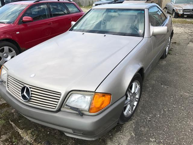 1992 Mercedes-benz 500sl Needs Engine Low Miles