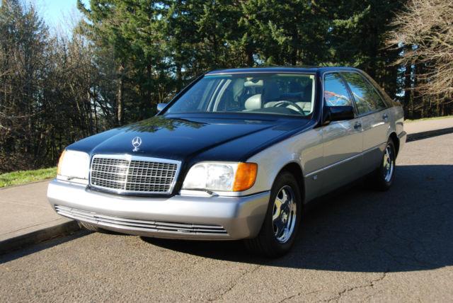 1992 mercedes benz 600sel v12 w140 low miles 82k for Mercedes benz 600 series