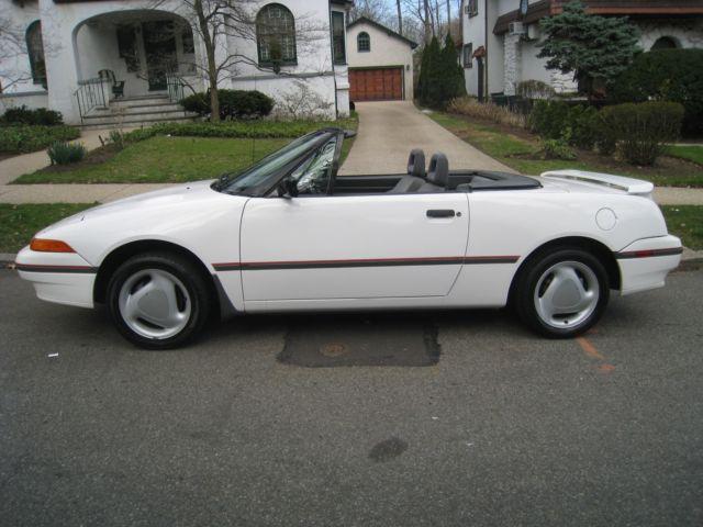 1992 Mercury Capri Xr2 Turbo Convertible 5 Sd Manual 90k