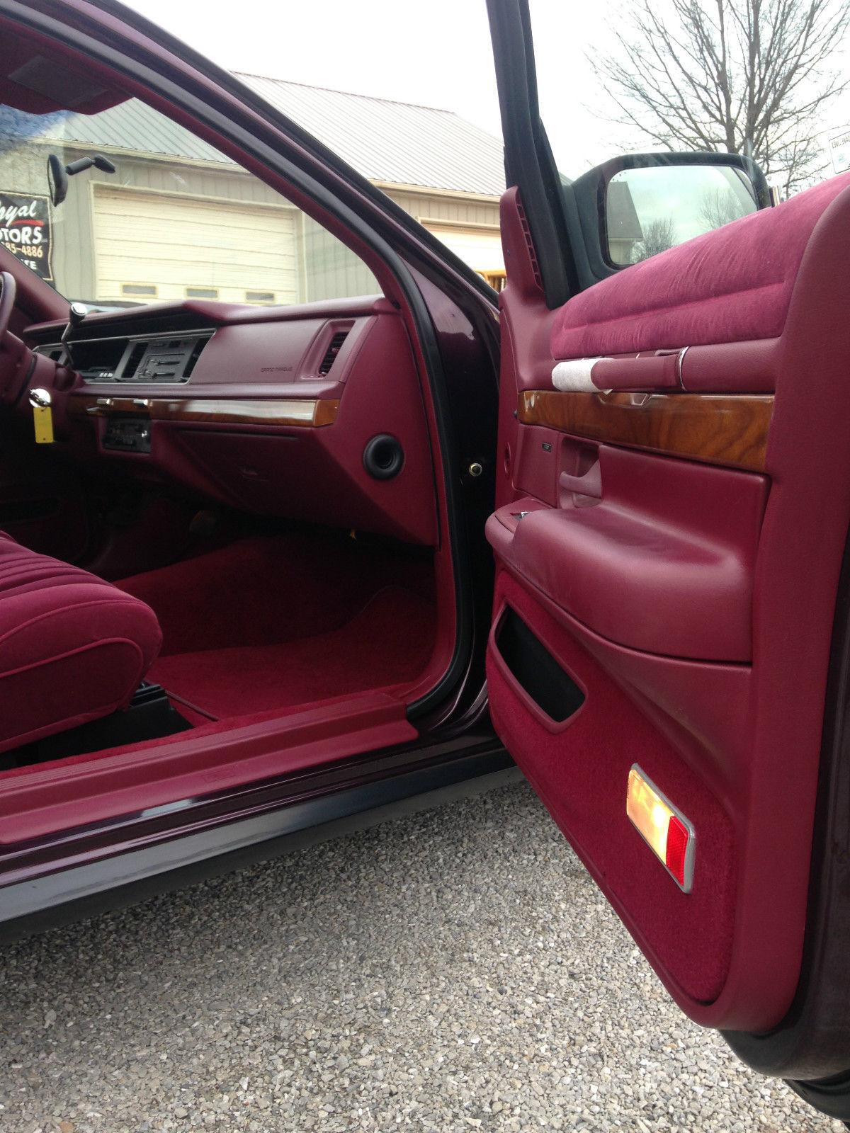 1992 Mercury Grand Marquis Ls Sedan 4