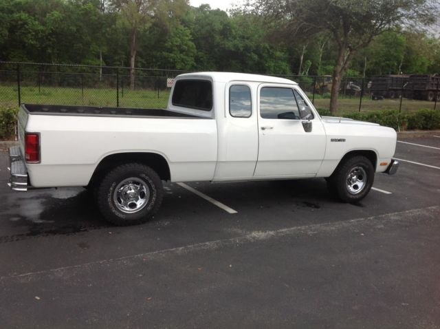 Ram 1500 Club Cab >> 1992 RAM D150 PICKUP CLUB CAB FOR SALE - Classic Dodge Ram 1500 1992 for sale