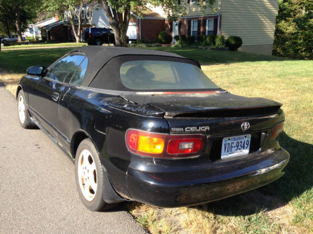 1992 toyota celica gt convertible runs but engine needs. Black Bedroom Furniture Sets. Home Design Ideas