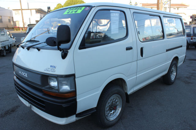Seattle Car Auction >> 1992 Toyota HIACE Van AWD, 5 Speed, Diesel- 3L, LH119V ...