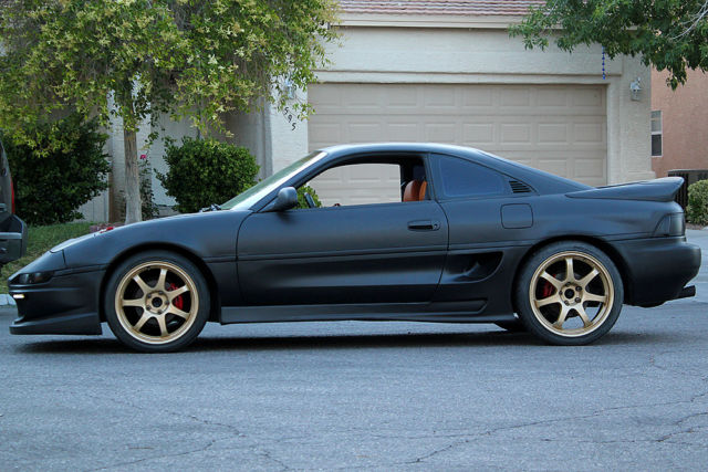 Jdm Cars For Sale >> 1992 Toyota MR2 - Matte Black - Custom Interior - Border Body Kit - RARE JDM CAR - Classic ...