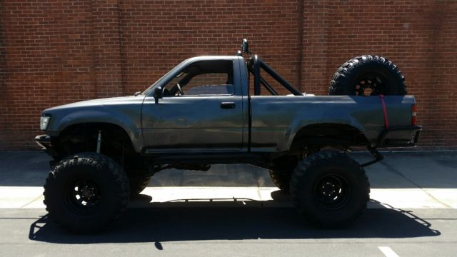 1992 toyota pickup rock crawler must see classic toyota pickup 1992 for sale for Interior roll cage for toyota pickup