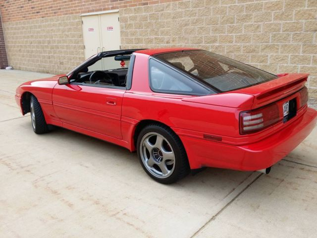 1992 toyota supra turbo targa 400whp built clean look classic toyota supra 19920000 for sale. Black Bedroom Furniture Sets. Home Design Ideas