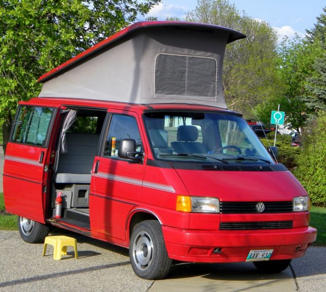 1992 volkswagen eurovan westfalia vw - rare