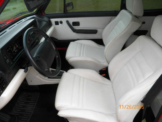 1992 Vw Golf Rabbit Cabriolet Mk1 Wolfsburg Classic