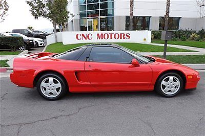 Acura NSX Low Miles Red Over Black Amazing Condition - Acura nsx for sale by owner