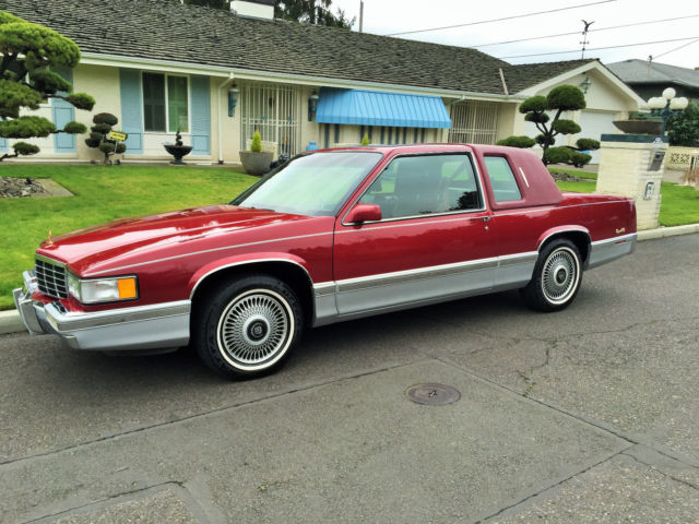 1993 Cadillac Two Door Coupe Deville Only 46 000 Miles