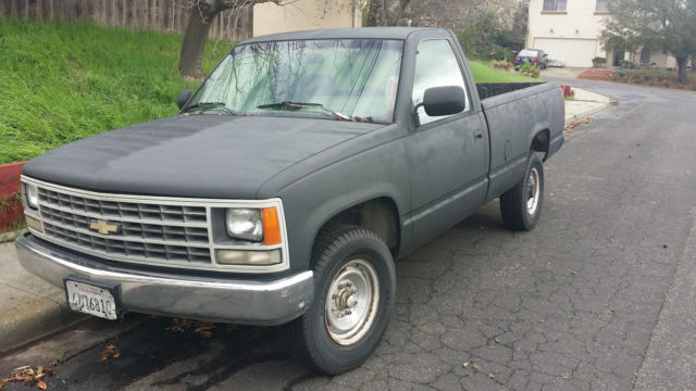 Rebuild Automatic Transmission >> 1993 CHEVROLET CHEYENNE 2500-NEW TIRES & WATER PUMP-RUNS GREAT-STD CAB-LONGBED - Classic ...
