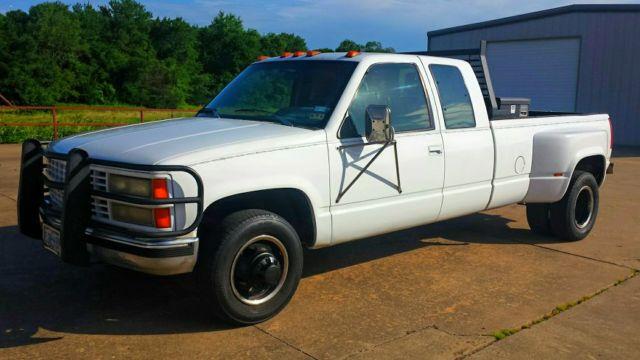 1993 Chevrolet Silverado 3500 1 ton Dually Pickup 454 auto ...