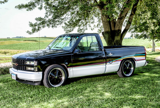 1993 chevrolet silverado c1500 indy pace truck lowered custom c10 very clean classic. Black Bedroom Furniture Sets. Home Design Ideas