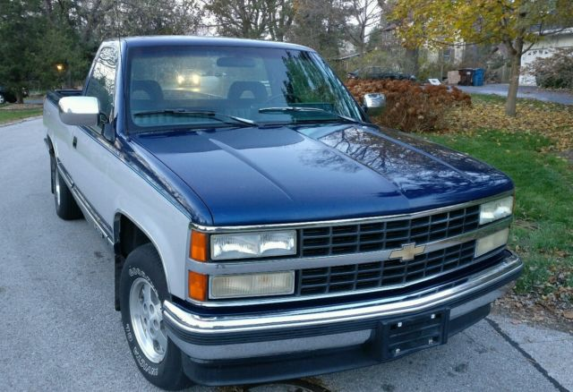1993 chevrolet silverado only 52k miles all original classic 1994 1995 1996 classic. Black Bedroom Furniture Sets. Home Design Ideas